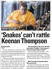 Keenan Thompson / Kenan Thompson (The Mandela Effect Database) Tags: keenan thompson kenan name change fat albert snl mandela mandala mandelaeffect residual research residue proof print