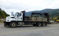 CP 10ton MOW Boom Truck (arrowlakelass) Tags: cpr railway engineering mow engineeringservices tamper celgar rail crossing p1200348edit