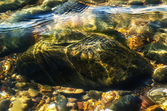 Rockpool (Mark Wasteney) Tags: rocks stones water colours ripples beach rockpool abstract