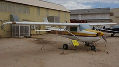Cessna 150L Commuter in Tucson (J.Comstedt) Tags: aircraft flight aviation air aeroplane museum airplane us usa planes pima space tucson az cessna 150 commuter n18588