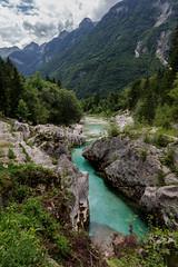 Soca river (Sylviane Moss) Tags: slovenia socavalley socariver water green