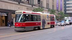 015 -1crpvib1stpffwl (citatus) Tags: eastbound ttc streetcar 4119 route 506 college street yonge main subway station toronto canada fall morning 2018 pentax k3 ii