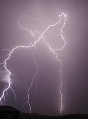An electric second (Lolo_) Tags: lightning storm marseille éclair foudre orage ville thunderstorm ramifié city