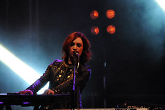 Cock Robin Band (jeangrgoire_marin) Tags: lady singer keyboards concert performance pop music rock