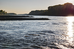 20181015-K32E7548 (AldAsAck1957) Tags: rhine karlsruhe germany low water sunset fall colour