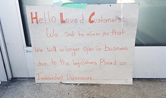 Two days before legal cannabis in Canada: closure of a Halifax cannabis dispensary (Coastal Elite) Tags: dispensary remedy halifax novascotia canada legalization closed closure sign thanks thankyou clients fermeture independent dispensaries unauthorized illegal legal legalize prohibition marijuana marihuana weed pot bunch flowers bouquet fleurs business medical medicinal medicalcannabis goodbye message signs mourning display window loved customers clientele community maritimes cannabis