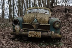 One Eye Blind (Graceful Decay) Tags: abandoned auto autumn canon car decay decayed derelict deserted deutschland eos forgotten forsaken germany gracefuldecay history historic leaves lost old oldtimer outside rust transport trees urbex vehicle vergessen verlassen verfallen wood