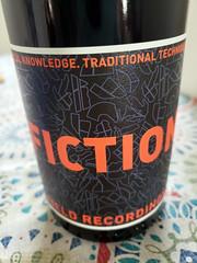 Fiction (quinn.anya) Tags: fiction wine label orange black redwine