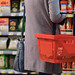 Midsection of Woman in Supermarket