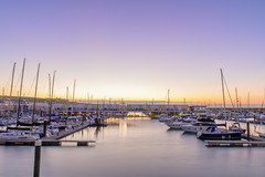 Brighton Marina Sunrise (thegrolffalo) Tags: brightonmarina sunrise brighton eastsussex morning sea water coast architecture boats yachts longexposure nikond850 nikon2470mm