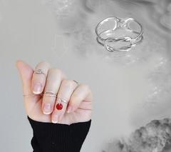 Buckle ring. Sterling Silver (SilverTrend4U) Tags: rings midirings handmadejewelry gift silver plainjeweley boho