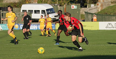 Lewes 2 Folkestone Invicta 0 20 10 2018-330-2.jpg (jamesboyes) Tags: lewes folkestoneinvicta football soccer fussball calcio voetbal amateur bostik isthmian goal score celebrate tackle pitch canon 70d dslr