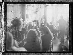 Toast! (thereisnocat) Tags: polaroid polaroid195 fp3000b wedding champagne toast minneapolis hennepincounty mn minnesota