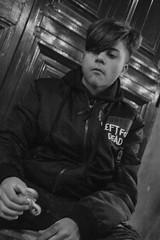 fidge spinner boy (Claudia Merighi) Tags: blackandwhitephotos blackandwhiteonly blackwhitephotos blackandwhitephotography streetphotography street streetportrait streetphotographers bnbwbwbiancoenero ricoh people persona claudiamerighi