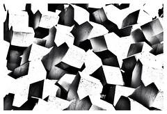 The art of breaking water (leo.roos) Tags: cadzandbad zwin concrete beton betonblok block breakwater havenhoofd harbour marina jachthaven noiretblanc zeeuwsvlaanderenoktober2018 a7rii sonyfe24105mmf4goss sony241054 sel24105g darosa leoroos