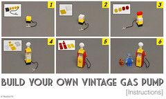 Build your own vintage gas pump