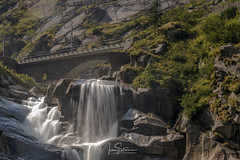 Waterfall at Devils Bridge (ivanstevensphotography) Tags: