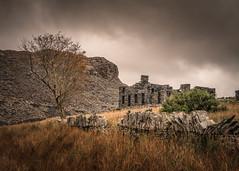 Alone (Photo Lab by Ross Farnham) Tags: wales snowdon landscape quarry ross farnham rocks slate moody sony a7rii