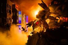 Cole Blaq meets Shobrick - Neo Tokyo pt.3 (Cole Blaq) Tags: blaq cole coleblaq lego manga scifi shobrick thinktank anime bricks collabo collaboration legography mech mecha model modelbuilding multiped robot tank walker