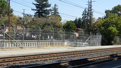 StanfordStation22SEP18 05 (By Air, Land and Sea) Tags: train rail railway railroad station depot suburban commuter california caltrain stanford paloalto stanfordstadium stanforduniversity sanfrancisco pcs peninsulacommuteservice