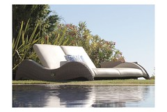 Luxor Rattan Double Sun Lounger Set (Garden Furniture Spain) Tags: rattanoutdoorfurniture rattan sun lounger set