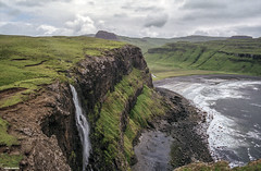 Cliffs on the Isle of Skye