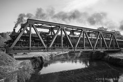 Treno storico Valsesia (beppeverge) Tags: beppeverge ferroviastorica locomotivavapore locomotive rails rotaie steamtrain train trenostorico valsesia