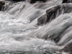 Waterfall abstract (Leo in Canberra) Tags: iceland waterfall abstract runningwater slowexposure rocks öxarárfoss þingvellir national park