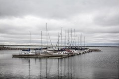 Safe Harbor Beneath the Storm (A Anderson Photography, over 2.7 million views) Tags: harbor canon sailing sailboats storm clouds reflections lakehefner