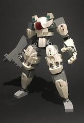 GNESS-3X (JakTheMad) Tags: lego bionicle moc afol tfol mech robot mecha