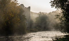Morning Mist (Fergal Gleeson) Tags: autumn building color colors countryside exploring fall foliage historic ireland landscape leaves old outdoor outdoors photography ruin scenery scenic season stone trees walk woodland