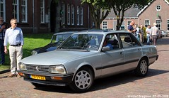 Peugeot 505 GTI automatic 1985 (XBXG) Tags: pb59zz peugeot 505 gti automatic 1985 peugeot505 bva automatique la fête des limousines 2018 fort isabella reutsedijk vught nederland holland netherlands paysbas emw elk merk waardig youngtimer old classic french car auto automobile voiture ancienne française vehicle outdoor