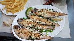 Soles grillées (Nordine H.M) Tags: maroc tanger restaurant poisson maysol nejma cuisine soles fruitsdemer avenuedespagne