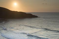 Playa de Antuerta. Cantabria. (salci_j Nikon D3200) Tags: atardecer sunset surf landscape paisaje cantabria d3200 nikond3200 playa beach mar puestadesol puesta de sol