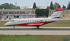 N282CC LMML 23-09-2018 (Burmarrad (Mark) Camenzuli Thank you for the 13.7) Tags: airline private aircraft gulfstream g280 registration n282cc cn 2014 lmml 23092018