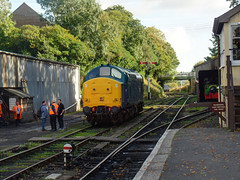 37142 Bodmin General (4) (Marky7890) Tags: 37142 class37 heritage diesellocomotive bodminwenfordrailway bodmin bodmingeneral cornwall train
