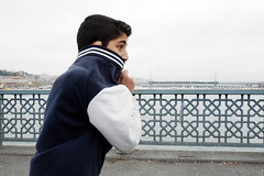 the boy of the Galata bridge (yaya13baut) Tags: istanbul turkey bridge boy child kid street streetphoto streetphotography candid look eye leica leicaq leicadigital leicacamera