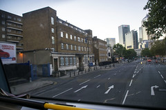 DSC_9352 London Bus Route #135 Early Morning Docklands Canary Wharf Limehouse Police Station (photographer695) Tags: london bus route 135 early morning docklands canary wharf limehouse police station