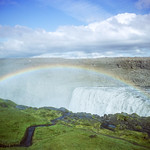 Rainbow above Dettifoss thumbnail