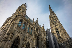 A beautiful church in Vienna Austria.