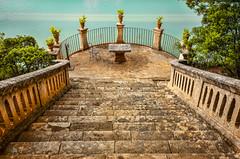 Raixa (Jose Peral Merino) Tags: raixa mallorca escaleras estanque mirador escalinata plantas jardin silla mesa mediterraneo