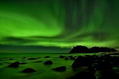 Uttakleiv aurora (Rudi Verspoor) Tags: aurora northernlights arctic norway february