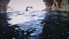 Swimrun Oeil de Verre Grotte Bleue octobre 201700045 (swimrun france) Tags: calanques provence swimming swimrun trailrunning training entrainement france