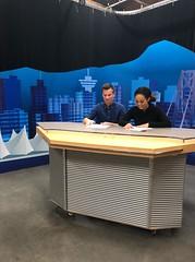 Reading Over Scripts (graysonrudzki) Tags: bcit bcit2018 journalism broadcast scripts news newsroom studio bcitjournalism2018