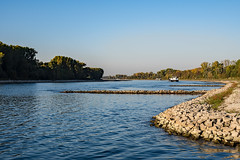 20181015-K32E7551 (AldAsAck1957) Tags: rhine karlsruhe germany low water sunset fall colour