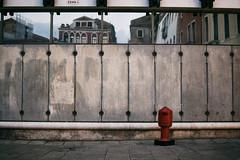 Compendium of Venice (Marta Marcato) Tags: venice reflection red grey house building square urban street streetphotography venezia nikond7200 italy italia minimal
