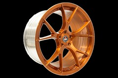 project-6gr-10-ten-brushed-antique-candy-copper-08 (PROJECT6GR_WHEELS) Tags: project 6gr 10ten wheels full forged spun candy copper antique penny starbucks rspec