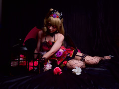 Shooting Love Live Little Devil - Eyaël - La Garde -2018-10-18- P1322669 (styeb) Tags: shoot shooting lagarde 2018 octobre 18 lovelive littledevil xml retouche modeleyael
