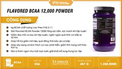 Giới thiệu sữa Ultimate Nutrition Flavored BCAA 12000 Powder | iFitness.vn (ifitnessvn) Tags: giới thiệu sữa ultimate nutrition flavored bcaa 12000 powder | ifitnessvn