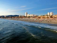 Santa Monica Pier .18/4 (Basic LA) Tags: santamonica santamonicaca santamonicapier la socal losangeles california pacificocean beach